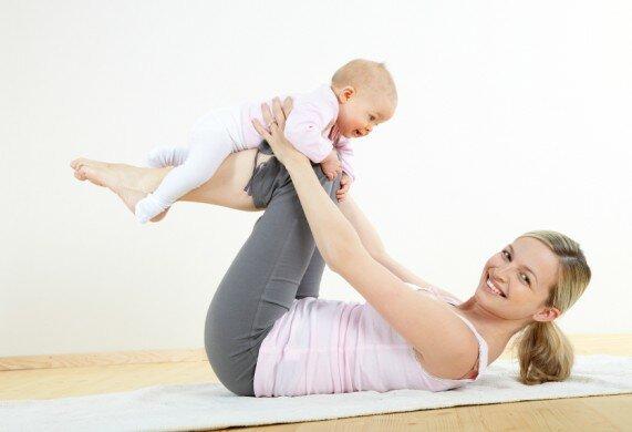 Как же правильно похудеть после беременности?