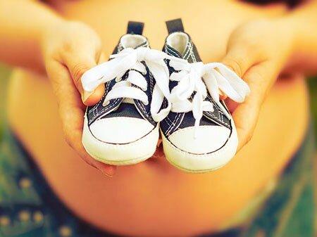 Ваш размер обуви может увеличиться во время беременности из-за испытываемых нагрузок