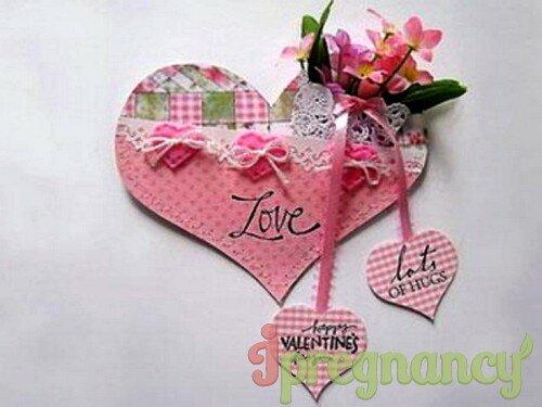 Валентинка своими руками из атласных лент