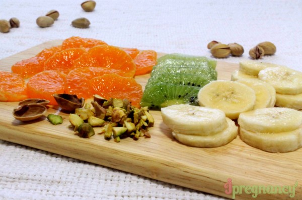 подготовка фруктов