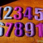 мягкие цифры 8