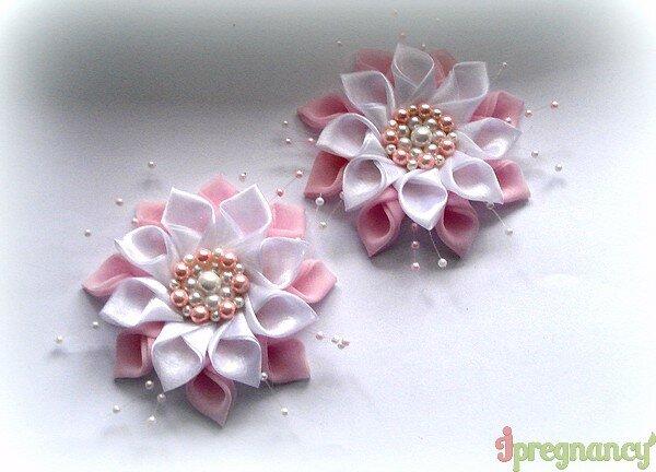 цветок из ткани 15