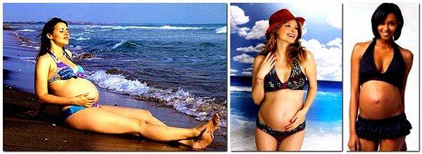 купальники для беременых 9