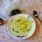 готовая порция супа